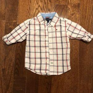 18 month Tommy Hilfiger button down shirt
